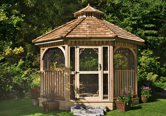 Outdoor Living 10' BaySide Panelized Octagon Gazebo